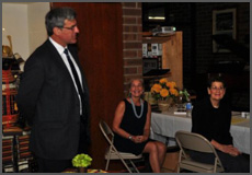 Our 25th Anniversary was celebrated with an evening reception that marked several milestones.